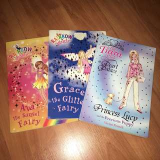 Rainbow Magic and Tiara Club Books