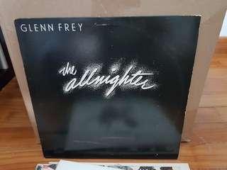 Glenn Frey The Allnighter Vinyl LP Original Pressing Rare