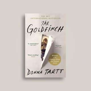 The Goldfinch Novel by Donna Tartt