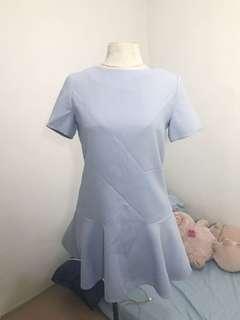 Kawaii Vintage Thrifted Lavender Dress