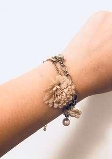 韓國首飾 手練 珍珠 碎花仔 氣質