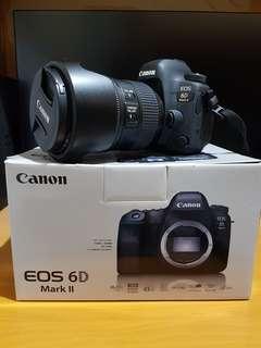 Canon EOS 6D Mark II 連EF 24-105mm f/4L IS II USM鏡頭