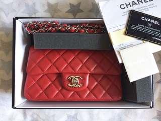 Chanel Classic Lambskin 20cm