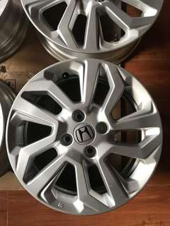 Original Honda Jazz 2018 15 inch Rims