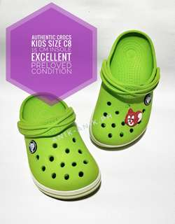 Authentic Crocs Excellent Preloved Kids