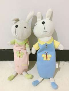 tempat pensil boneka kelinci
