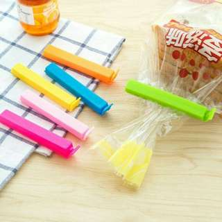 Segel Penjepit Plastik / Jepit Kantong Makanan Klip Seal Food Sealer