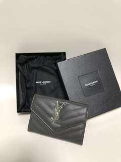 Ysl Card Holder 95%new 有全盒及塵袋