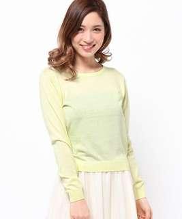 🚚 日本雜誌美人百花揭載小嶋陽菜著用 專櫃正品Mercuryduo薄長袖上衣