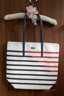 Lacoste Zip Tote Bag