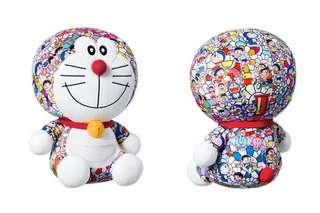 Takashi Murakami x Doraemon plushies