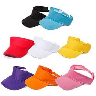 8色遮陽帽