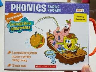 Spongebob A Phonics Reading Program books