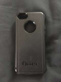 Black iPhone 5C Otterbox Phone Case