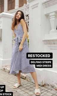 Delfino stripe dress