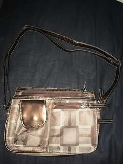 Stylish brown purse