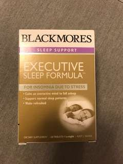 Blackmores executive sleep formula (Lowest price on carousell)
