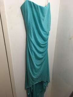 Turquoise Formal Dress (Size 6)
