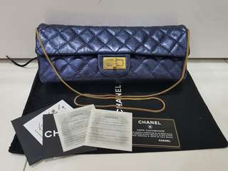 Chanel East West Reissue Clutch