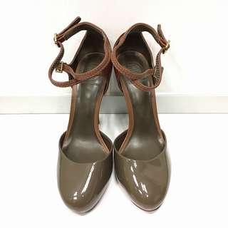 Tory Burch Lolita patent leather pumps 高跟鞋