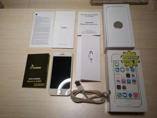 Iphone 5S 16gb Gold second mulus