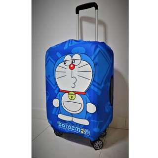 [19-21] [22-24]  inch Elastic Luggage Suitcase Cover Protective Bag Dustproof Case Protector Doraemon Design