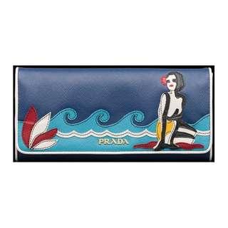 Prada Mermaid Wallet