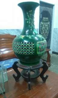 2000含運〰古董造型花瓶〰含底座〰