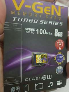 Memory micro vgen 8GB turbo series