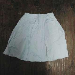Light Blue Skater Skirt