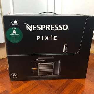 Nespresso pixie 全新咖啡機
