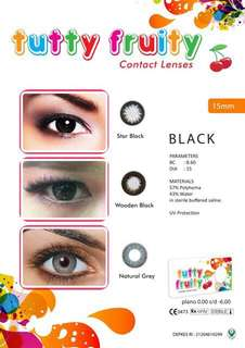 Softlens Tutty Fruit