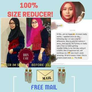 Size reducer slimming