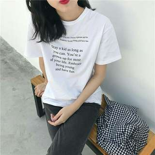 PO: Tumblr Young Quote Tee