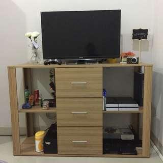 Rak Meja TV Funika kayu