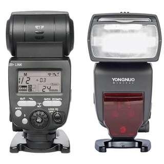 Yongnuo YN660 Wireless Flash Speedlite GN66 2.4G Nikon Canon Fuji Sony