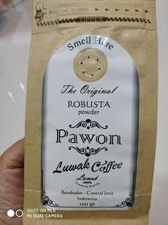 Kopi luwak robusta powder 100g