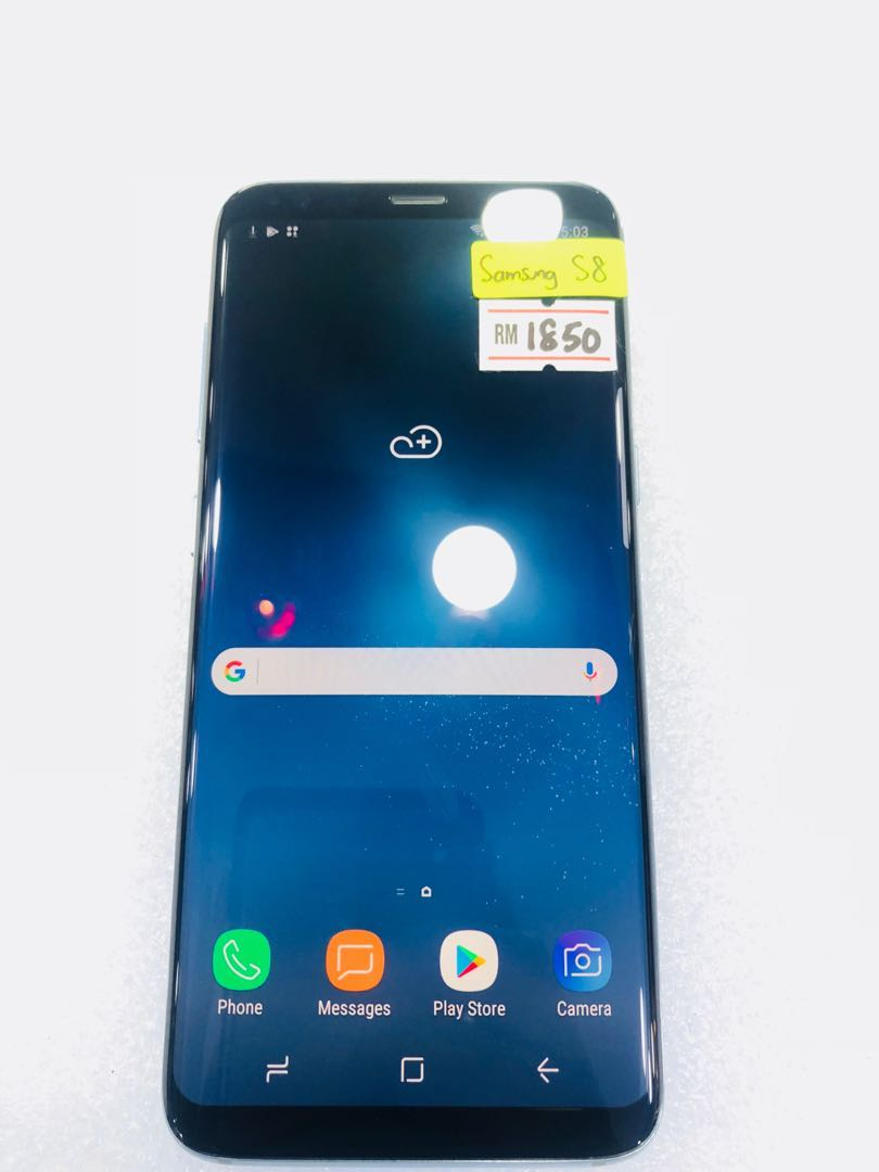 01ef093712751d 2nd Samsung Galaxy S8 coral blue, Mobile Phones   Tablets, Android Phones,  Samsung on Carousell