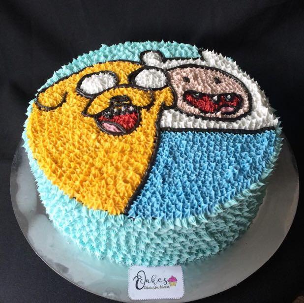 Adventure Time Cake Food Drinks On Carousell