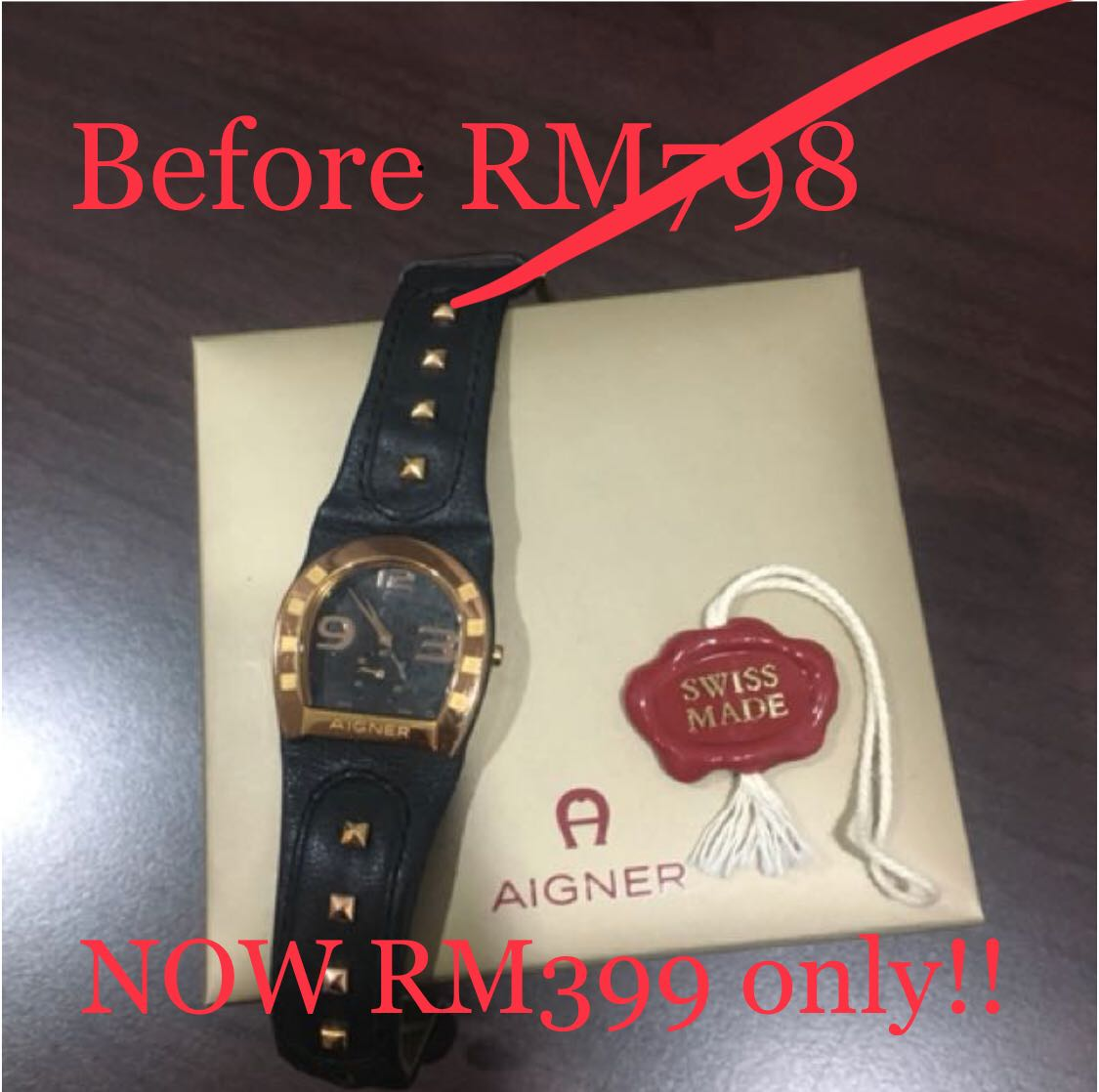 Aigner Ladies Watch Womens Fashion Watches On Carousell Women