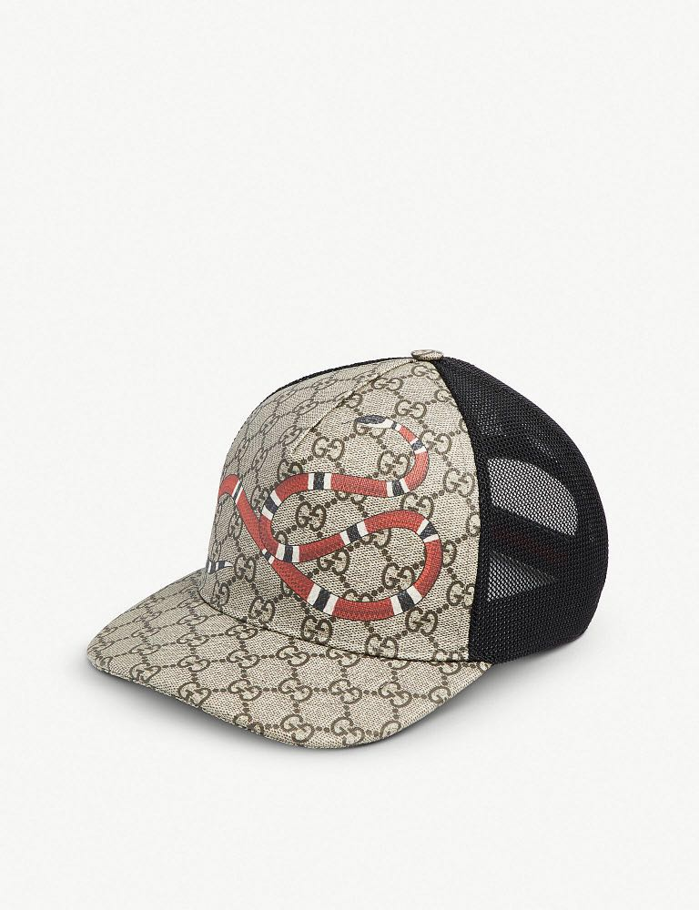 c1984bb5 BN Gucci Snake Cap, Men's Fashion, Accessories, Caps & Hats on Carousell
