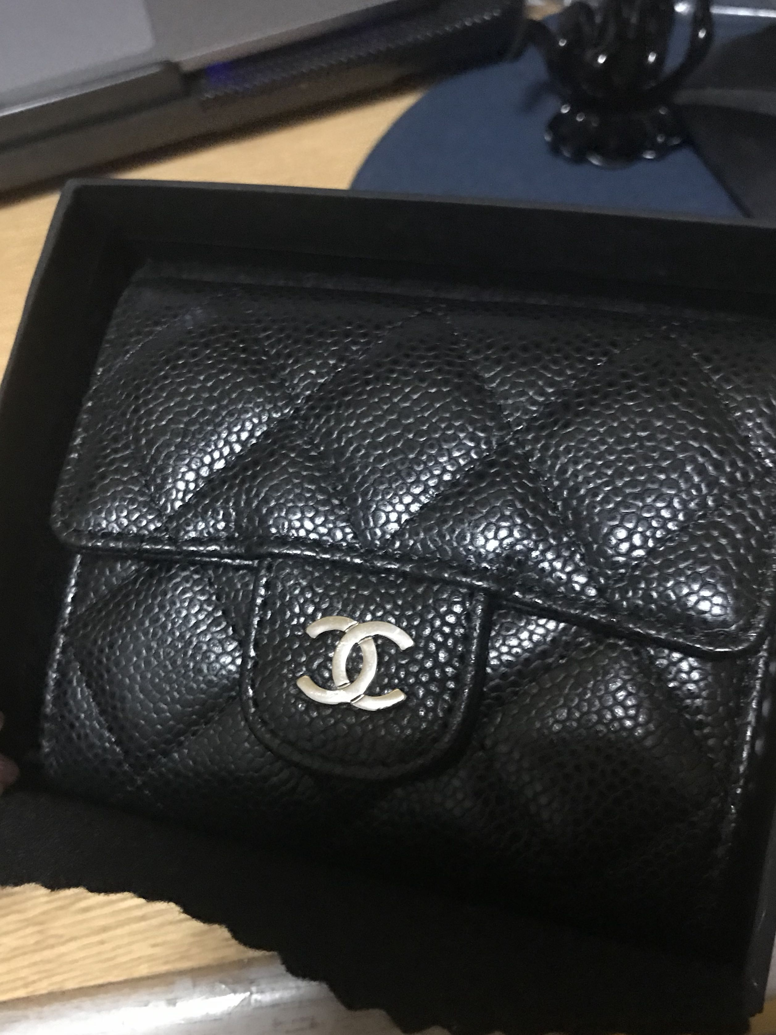 0b197d15d37d Chanel Card Holder, Luxury, Bags & Wallets, Wallets on Carousell