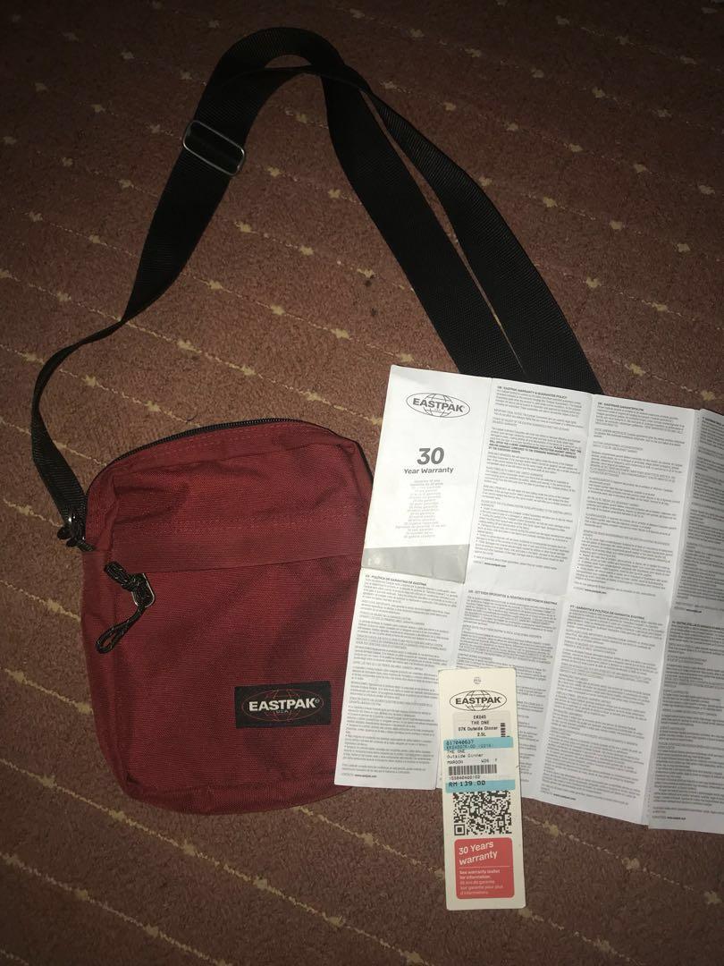 populair merk ziet er geweldig uit betrouwbare kwaliteit Eastpak sling bag