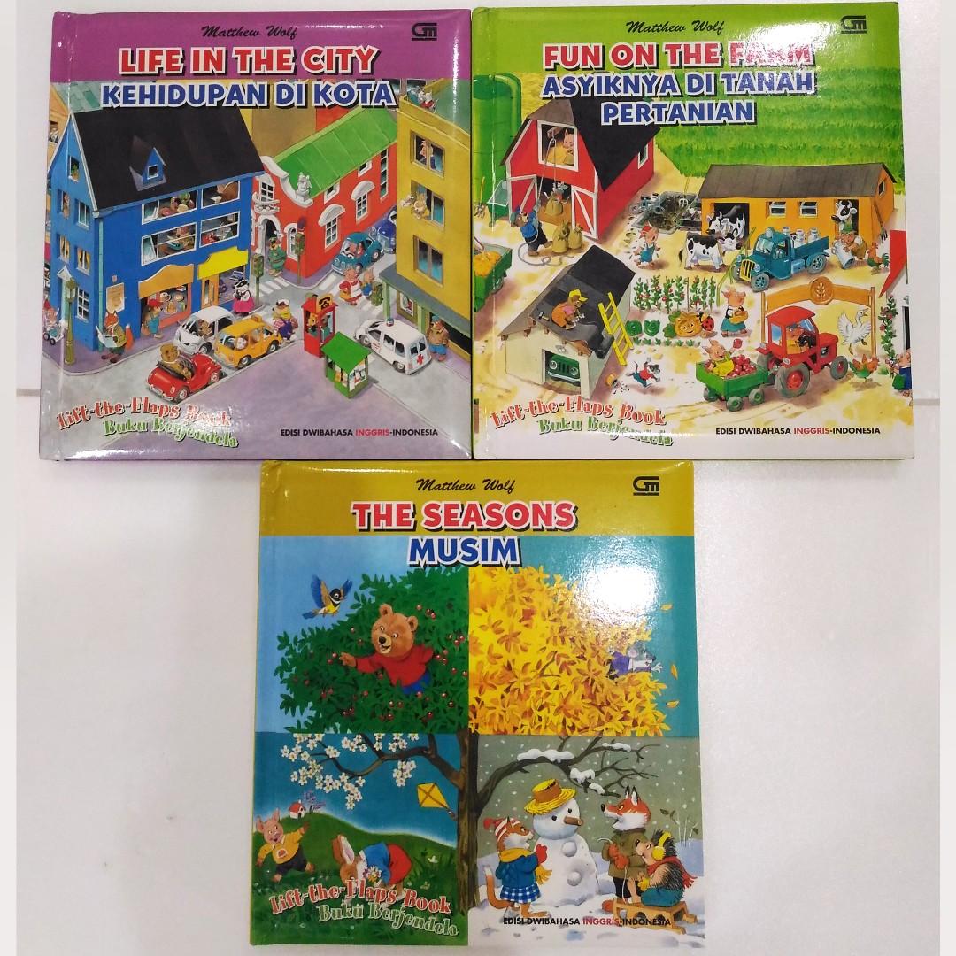 Explore Books Bayi Anak Mainan Baby Walker Di Carousell The Farm Tanah Pertanian Edisi Dwibahasa Inggris Indonesia