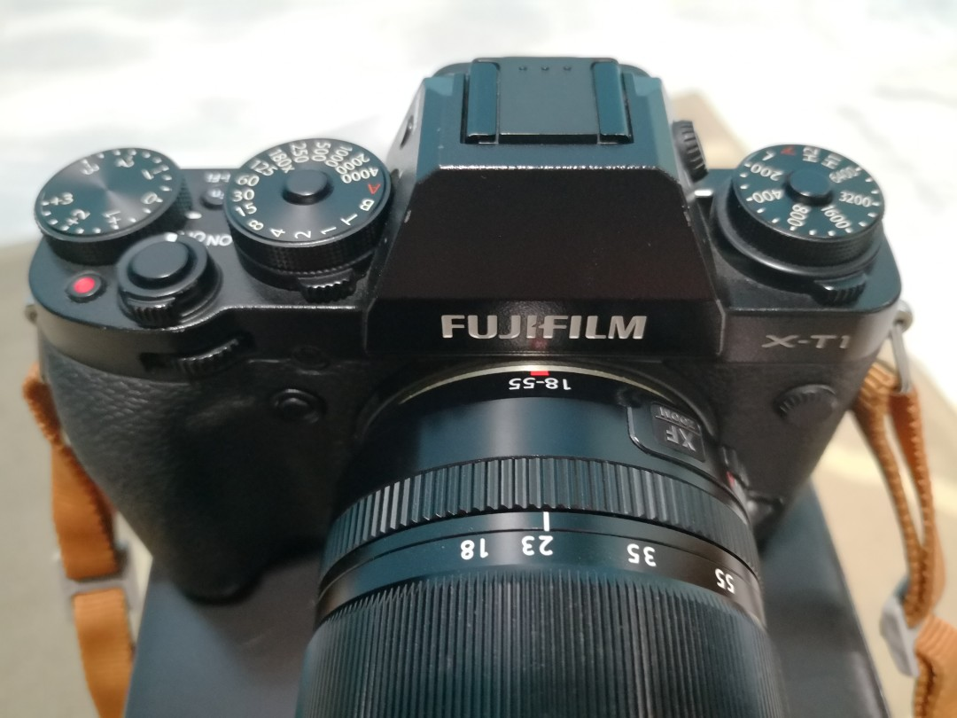 Fujifilm X T1 Camera With Kit Lens Xf 18 55mm Kamera Di Carousell T2 Paket