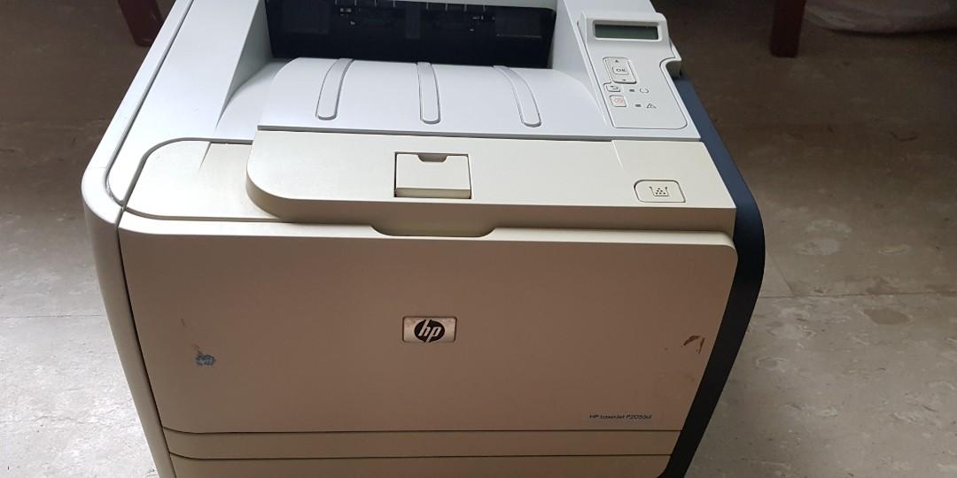 HP Laserjet P2055d printer without Toner