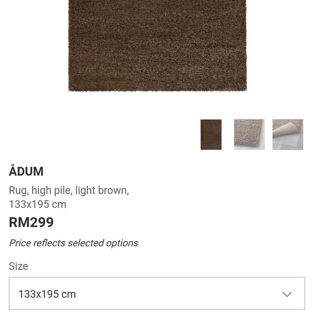 Ikea Adum Rug