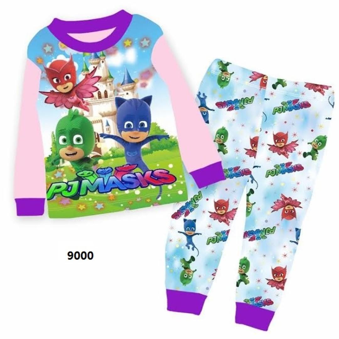 8 Free normal Mail PJ Masks Design Pajamas  Pjs  Sleepwear left size 5Y 8e520176d