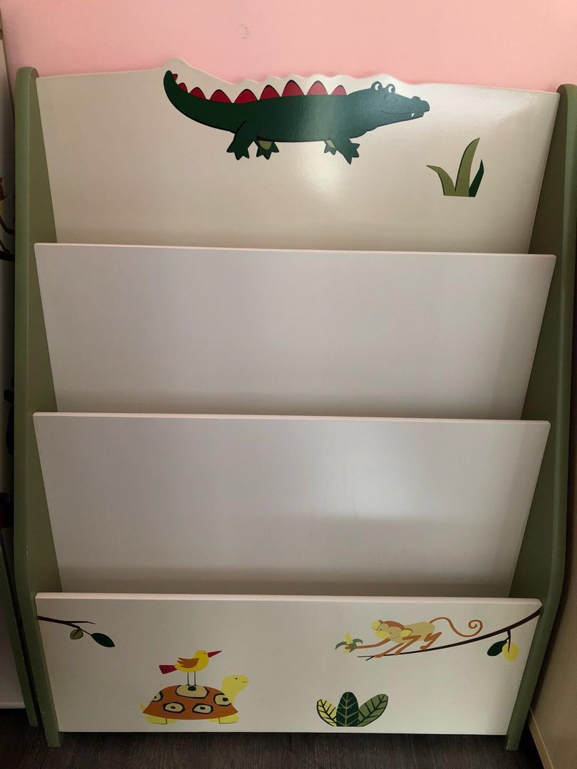 Kids Book Display Shelf Furniture Shelves Drawers On Carousell