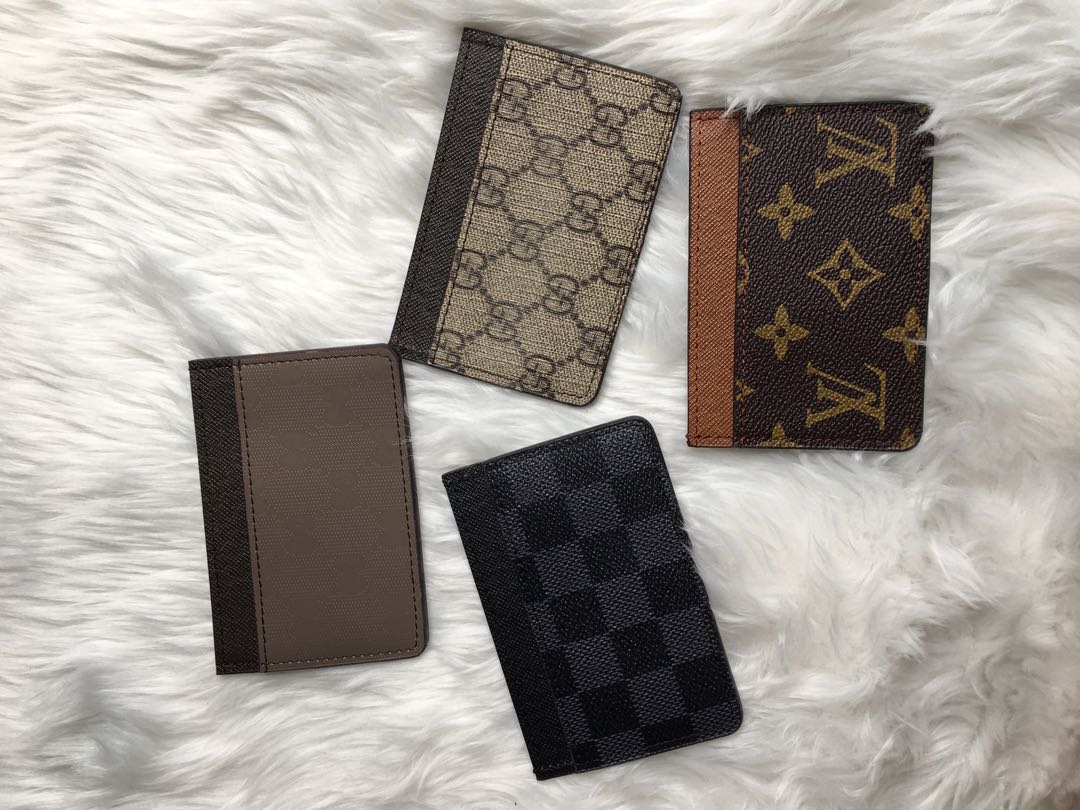 2fdf66dba4a Lv and gucci card holder wallet
